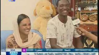 getlinkyoutube.com-علاء الدين فييرا وزوجته وابنته الهلال السوداني