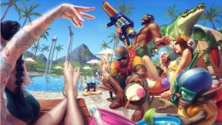 getlinkyoutube.com-Pool Party 2013 Login Screen - League Of Legends Animation Theme Intro Music Song Official