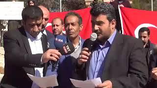Suriyeli Sığınmacılar Bahar Kalkanı Harekatı'na destek