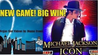 getlinkyoutube.com-NEW! BIG WIN! MICHAEL JACKSON ICON SLOT MACHINE BONUS