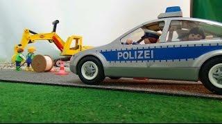 getlinkyoutube.com-Playmobil Spiele - Lena und Max  (Folge 2) - Bei der Polizeistation