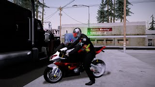 getlinkyoutube.com-GTA ตำรวจสายตรวจ BMW S1000rr Red [บิ๊กไบค์ ท่าขับ เสียง แจก]