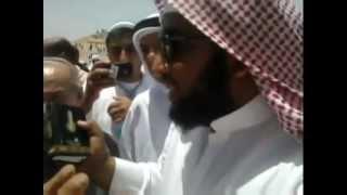 مناظرة عجيبة بين سني وشيعي عند قبر حمزة بن عبد المطلب