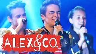 getlinkyoutube.com-ALEX & CO Stars - Song: We Are One - Aus dem Staffelfinale im DISNEY CHANNEL