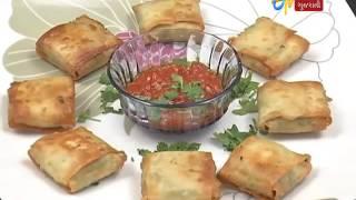 getlinkyoutube.com-Etv News Gujarati l Rasoi ni Ramzat l Paneer Parcel l Tandoori Cauliflower l 19 March