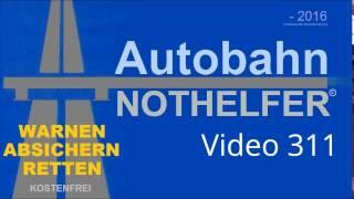getlinkyoutube.com-A1: Transporter stehen links auf der Autobahn (30.11.2016, 311)