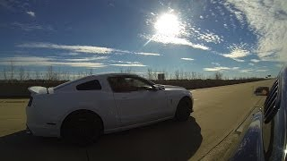 getlinkyoutube.com-Twin Turbo 5.0 vs 2014 GT500