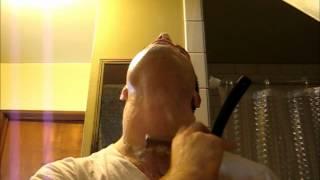 getlinkyoutube.com-Straight Razor shave demo Wade & Butcher part 3