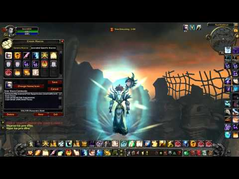 Hydra Priest Talkthrough 8 - Priest Macros