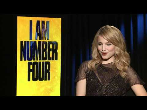 Dianna Agron Interview: I Am Number Four Movie Junket