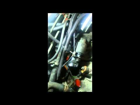 How to Change Replace Knock Sensor? Peugeot 206