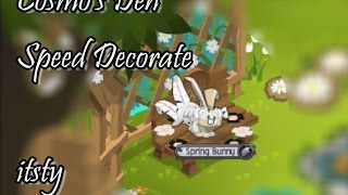 getlinkyoutube.com-[Animal Jam] Speed Decorate | Cosmo's Den