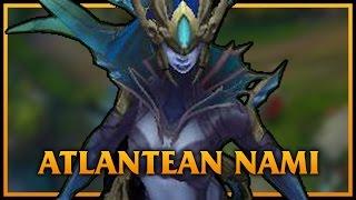 getlinkyoutube.com-Atlantean Nami LoL Custom Skin ShowCase