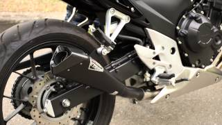 getlinkyoutube.com-Honda CB500-F IXIL Exhaust