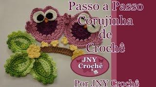 getlinkyoutube.com-Passo a Passo Corujinha de Crochê por JNY Crochê