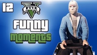 getlinkyoutube.com-GTA 5 Online Funny Moments Ep. 12 (Tow trucks and Lawn mowers)