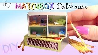 getlinkyoutube.com-DIY Miniature Matchbox Dollhouse Tutorial