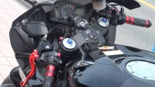 getlinkyoutube.com-女性ライダー 2013 ホンダ・CBR600RR HONDA CBR 600RR