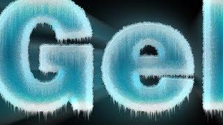 getlinkyoutube.com-Tutorial Photoshop - Texto de Gelo