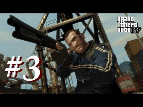 Grand Theft Auto 4 Multiplayer Shenanigans with Creatures Episode 3 - Kootra the Pilot