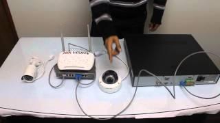 getlinkyoutube.com-Instalacion y Configuracion de sistema Video vigilancia IP HIKVISION