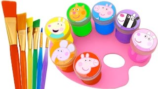getlinkyoutube.com-Best Learning Colors Video for Children Peppa Pig Play Doh Molds Fun & Creative for Kids RL