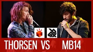 getlinkyoutube.com-THORSEN vs MB14 | Grand Beatbox LOOPSTATION Battle 2016 | SEMI FINAL