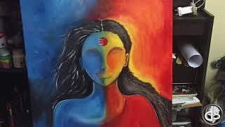 Ardhnarishwar - Shiva Shakti series width=