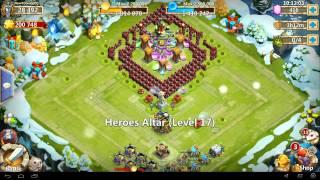 getlinkyoutube.com-Castle Clash - Ice Breaker V3 - Mini TH18 - How To Guide CC - 83