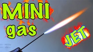 getlinkyoutube.com-How to make a mini Gas-jet (up to 1000ºC)
