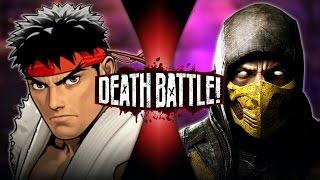 getlinkyoutube.com-Ryu vs Scorpion | DEATH BATTLE!