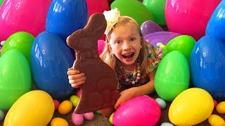 getlinkyoutube.com-HUGE CHOCOLATE BUNNY & Lost Tooth || Mommy Monday Easter Special