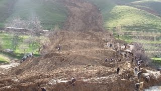 getlinkyoutube.com-Terrible Landslide in the Mountains of Dagestan!