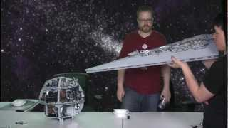 getlinkyoutube.com-LEGO Super Star Destroyer VS. LEGO Death Star