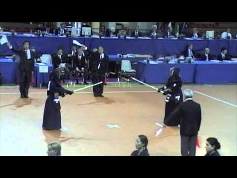 WKC 2012 Women's Team Germany - Austria 5th Fight Taisho