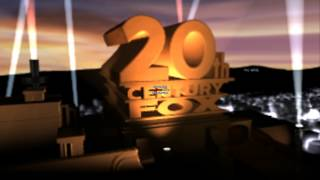 getlinkyoutube.com-Twentieth Century Fox logos Remastered In Blender
