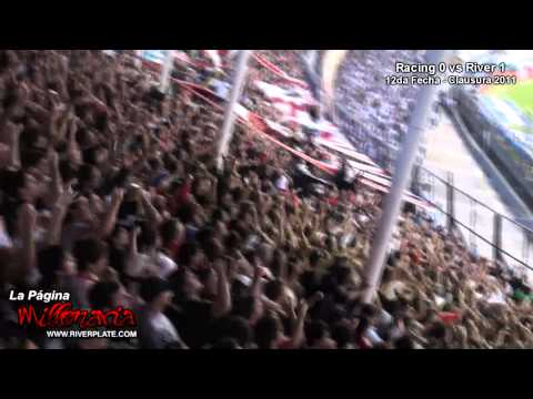 Racing vs River - Les demostramos lo que es River en las malas