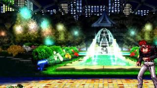 getlinkyoutube.com-[KOF WOJ] Iori Yagami VS Leona