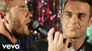 getlinkyoutube.com-Robbie Williams and Gary Barlow - Shame
