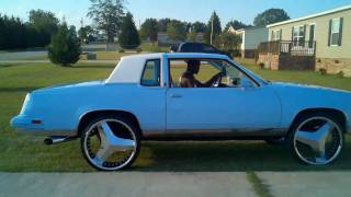 getlinkyoutube.com-24s on 84 cutlass