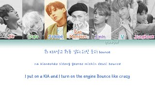 getlinkyoutube.com-BTS (방탄소년단) - Ma City  (Color Coded Han Rom Eng Lyrics)   by Yankat