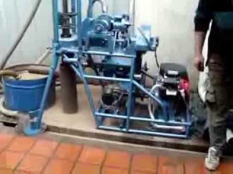 equipo de perforación rico  120 metros de profundidad