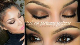 getlinkyoutube.com-Look SIN pestañas postizas ( NO lashes look)