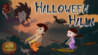getlinkyoutube.com-Chhota Bheem - Halloween Halla