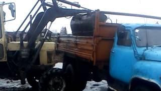 getlinkyoutube.com-погрузка навоза осенью в газ саз 3507