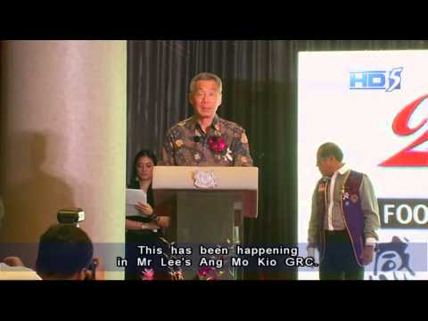 PM Lee: S'poreans can & must do their best to help the poor - 16Jun2013