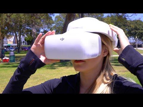 DJI Goggles - FPV Drone Flying