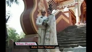 getlinkyoutube.com-Myanmar Triditional Wedding Dress - 2013 Calendar From MRTV4