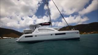 getlinkyoutube.com-Yachting World Magazine -- Catamaran Sailing Techniques FULL -- Leopard 48 (Moorings 4800)