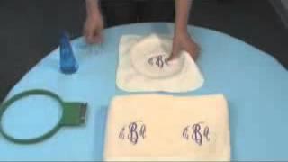 getlinkyoutube.com-Cómo bordar toallas y tejidos con rizo